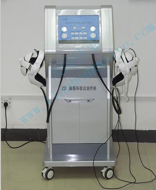 脑循环综合治疗仪是一种小脑顶核电刺激治疗仪(非药物