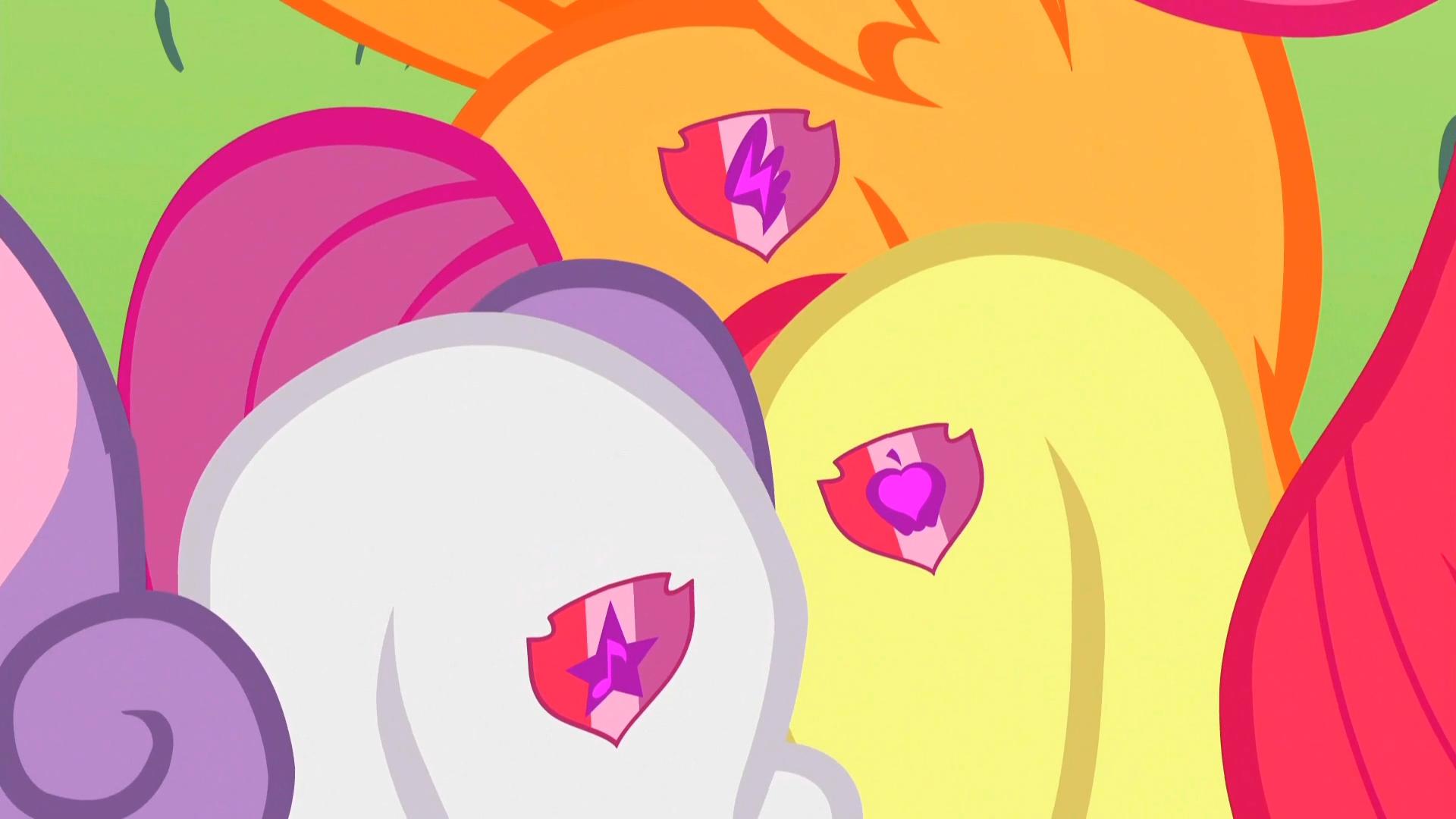最后小马宝莉里的苹果丽丽它们三个得到可爱标志了吗?