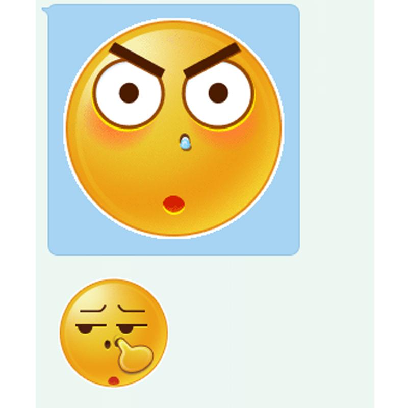 第一张比超清版还大的qq表情哪有?图片