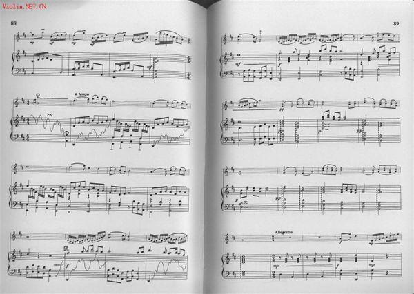 渔舟唱晚小提琴&古筝合奏谱