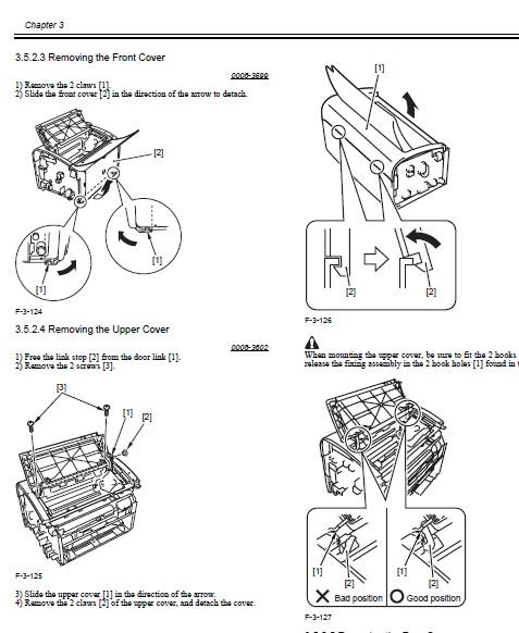 零件安装步骤线稿
