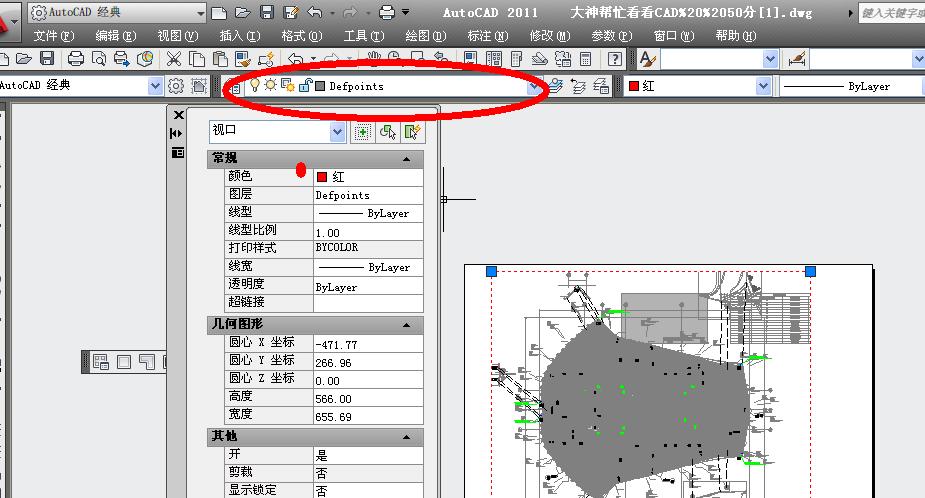 CAD视口线被看不到拿出点亮视口已经没法所CAD删除纸样图片