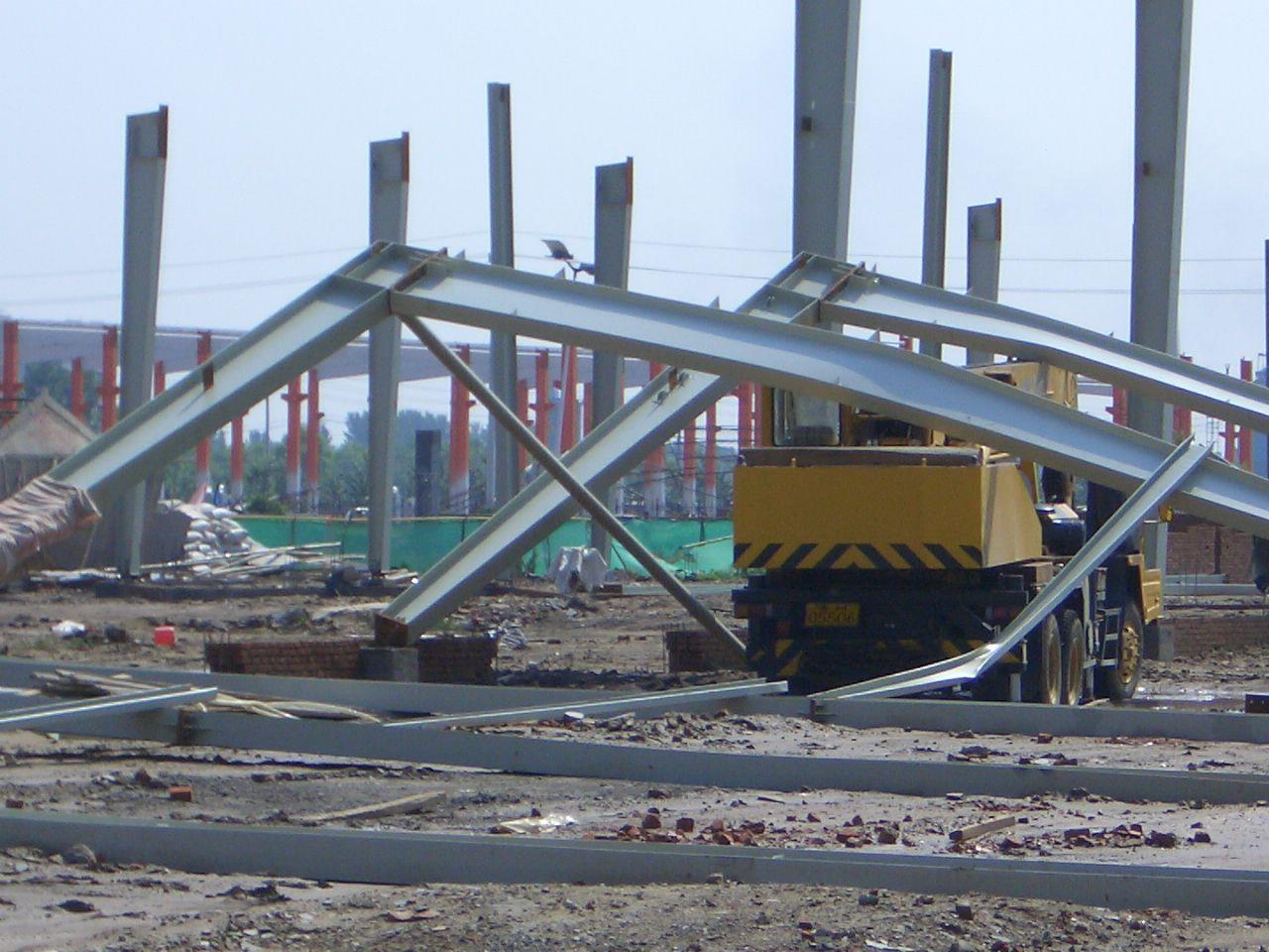 钢结构厂房地基事