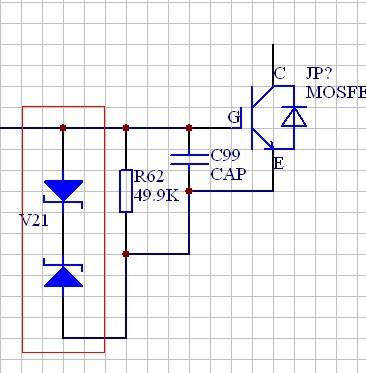 abb acs550变频器驱动电路上的二极管(010 lrc)的型号