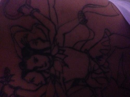 我的男人背后纹身是哪吒 这有什么寓意吗 能推测出他得什么性格吗 求图片