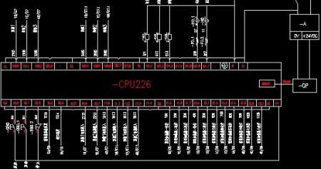 西门子plc s7-200 cpu226如何接线.最好附有接线图