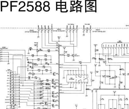 长虹pf2588电路图谁有?