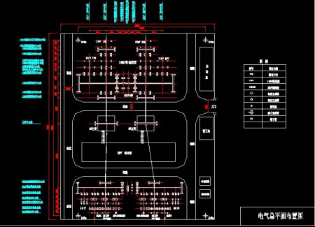 求110kv变电站电气一次部分设计,电气主接线图一张,屋