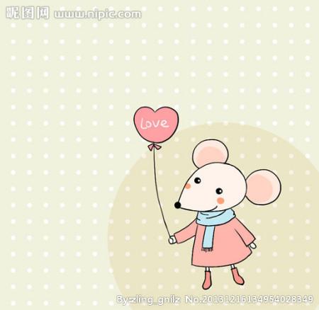 求可爱的卡通(动漫)老鼠图片