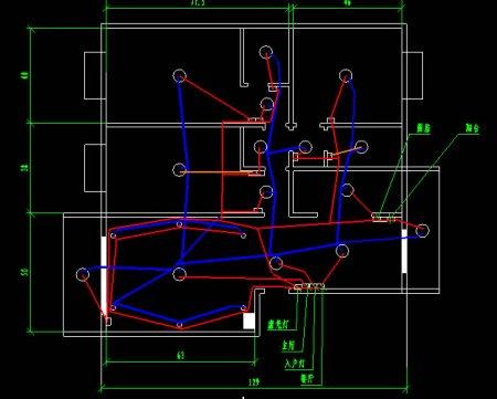 家庭照明电路图怎么绘制?