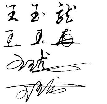 我想要一個非主流繁體字個性簽名和網名,名字叫王玉龍圖片