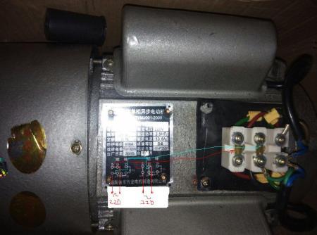 220电机怎么接线?