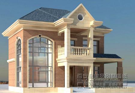 农村二层小别墅设计图纸一楼带大厅