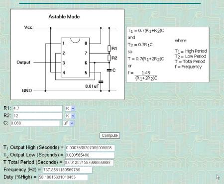 ne555产生方波和三角波的电路图