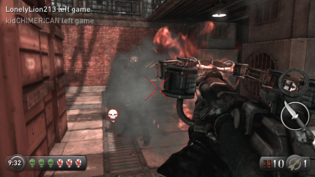 psv游戏机中的抵抗燃烧画面图片