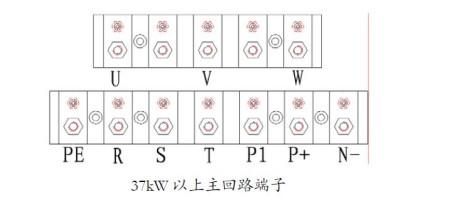 求森兰变频器sb60详细接线图 端子指令启动加模拟量控制详细参数设定