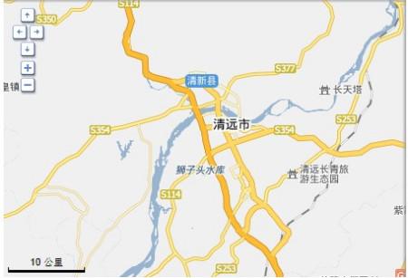 从广州中大到清远市清城区打古考场在车上导航搜不到怎么办?