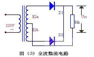 单相半波,全波,桥式整流电路各有什么特点?图片