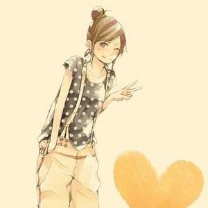 求手绘卡通女孩剪刀手 只要比较唯美的剪刀手头像,一定要卡通可爱的.