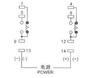 欧姆龙h3y-2时间继电器怎么实现通电延时,接dc24v电磁图片