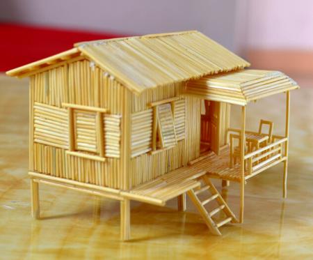 手工制作木房子的大全图片步骤