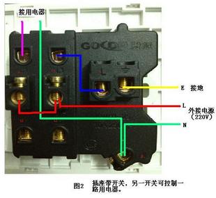 展开全部 一,两开五孔插座的接线,一般有两种方式,可根据以下示意图