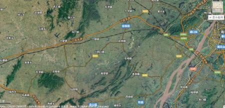 撮镇高速道路规划图