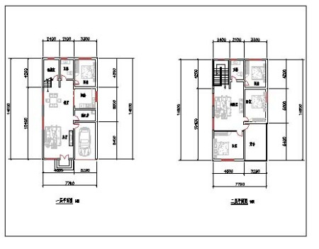 免费农村房屋设计图