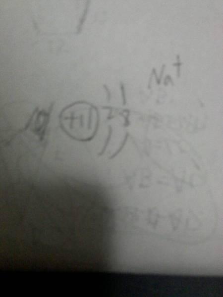钠形成简单离子的离子结构示意图