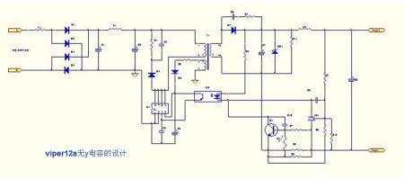 有谁知道,集成块viper12a的应用电路及大概价格