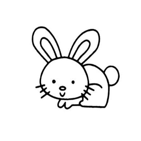 小白兔简笔画怎么画