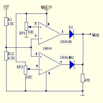 求一电压检测电路,实时检测电源电压