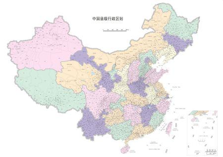 全中国地图明细