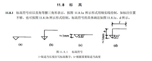 建筑图纸符号标高说明在哪个图纸桥梁图集图片