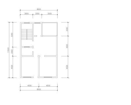 长10米宽6米地皮盖房设计图图片