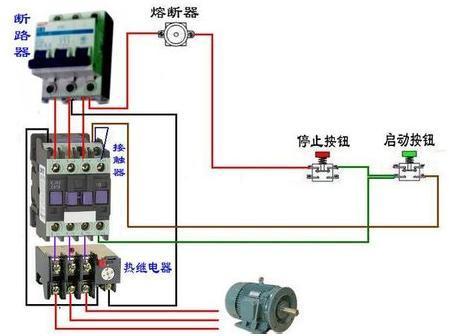 按妞控制交流接触器正泰cjx2_1810和热继电器(正泰nr2(jr28)-25接线图
