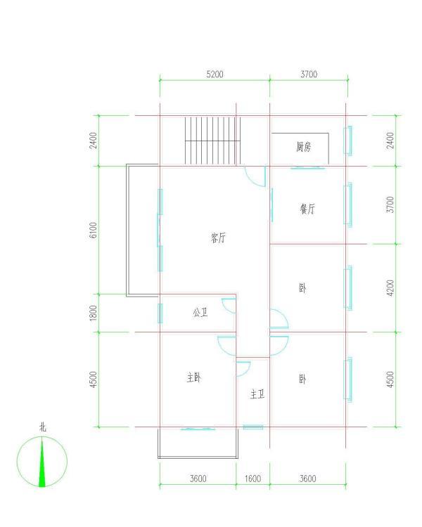 设计图农村三间房平面设计图农村三间房子的设计