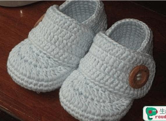 婴儿鞋底钩法图解
