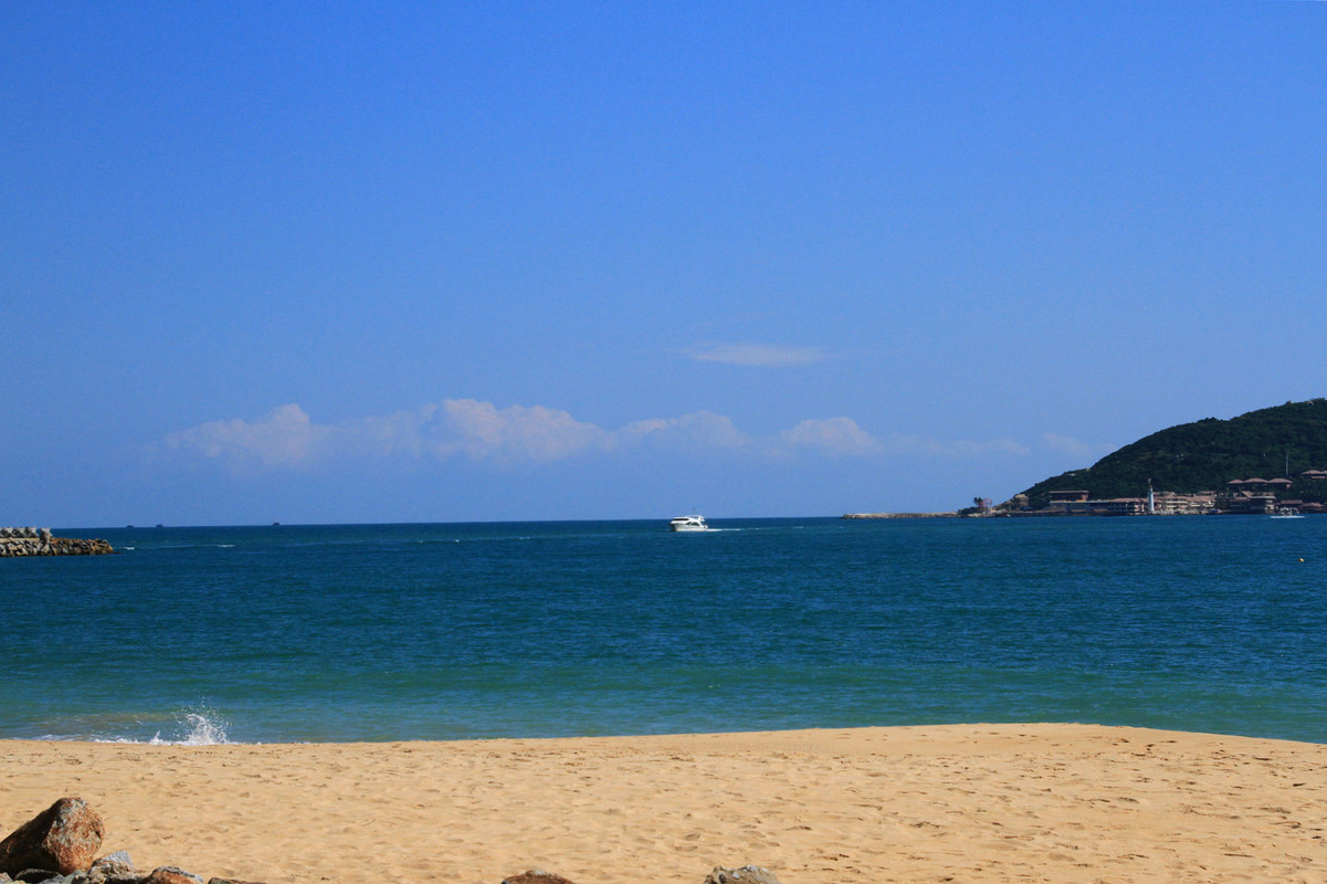 海南琼海,万宁,陵水,三亚海滩风光