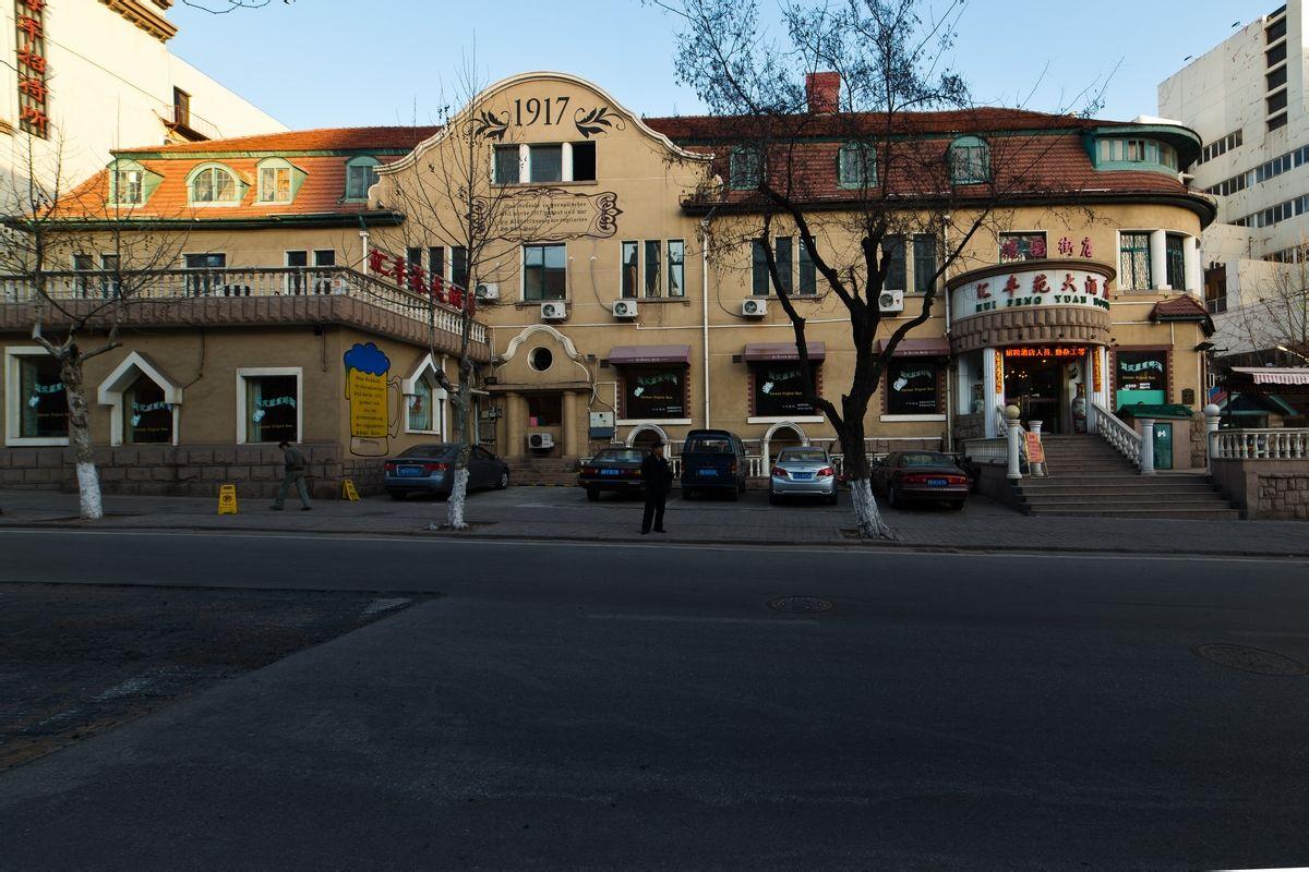 馆陶路看青岛近代建筑