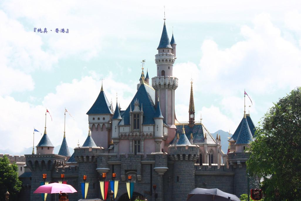 睡公主城堡图片