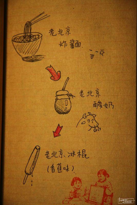 老北京冰棍 手绘