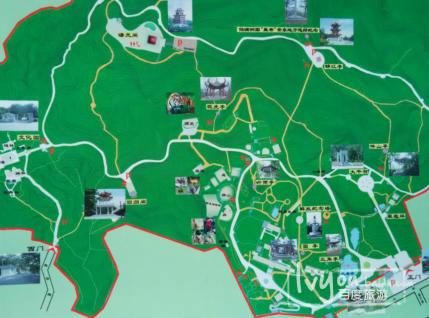 丹东景点地图全图