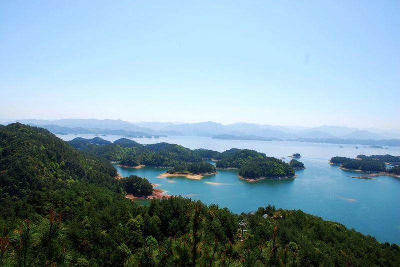 船游千岛湖