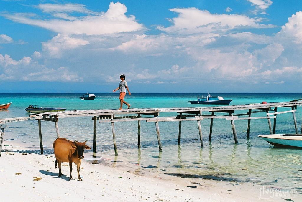 两吃货游走马来西亚,海岛,美食,还有亚航17元飞机餐