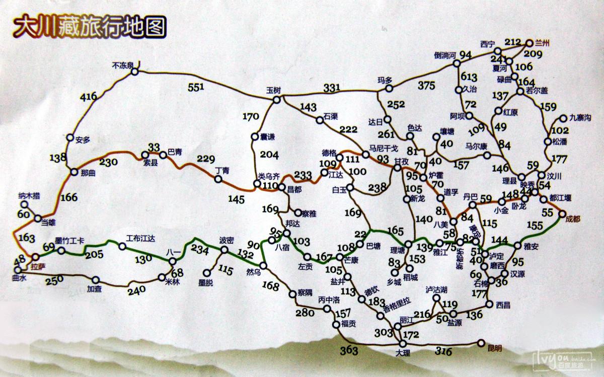 01-3 藏区地图3