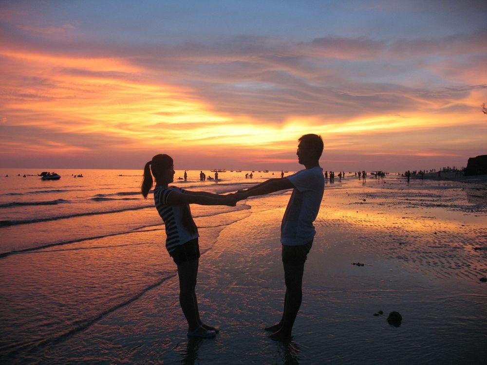 北海,涠洲岛,阳光,沙滩的快乐.
