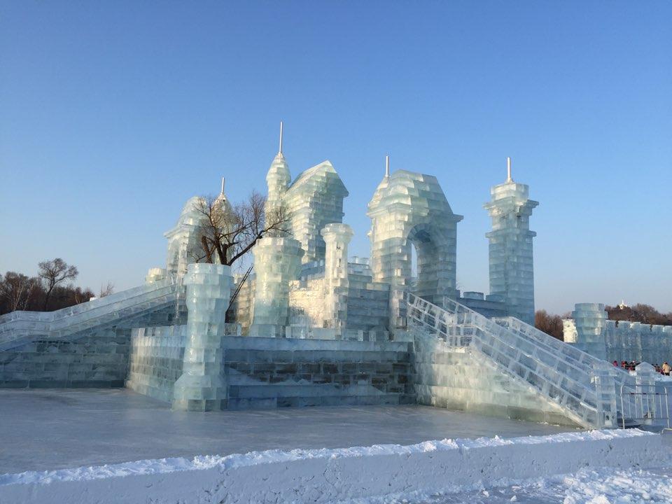 罗浮山风景区冰雕