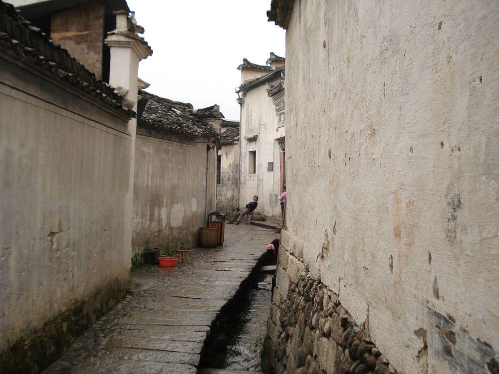壁纸 风景 古镇 建筑 街道 旅游 摄影 小巷 1000_750