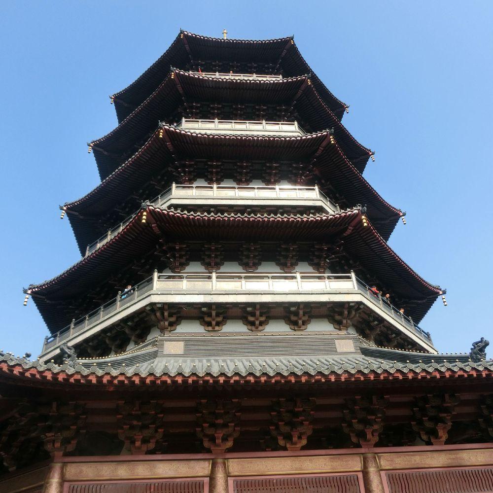 杭州西湖——雷峰塔.图片